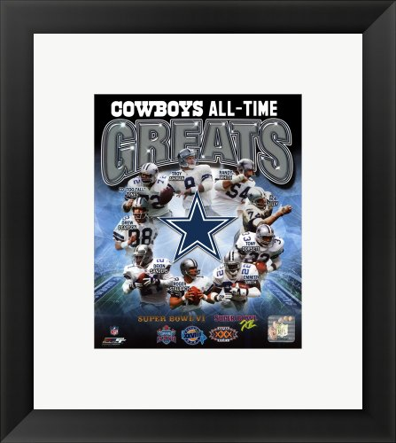 Dallas Cowboys All Time Greats Composite Framed Photo, Size 14.75 X 16.75 at Amazon.com