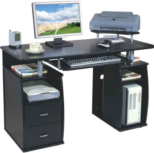 Computer Desk Graphite/Black 5g