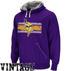 Reebok Minnesota Vikings Vintage Applique Hooded Sweatshirt by Reebok