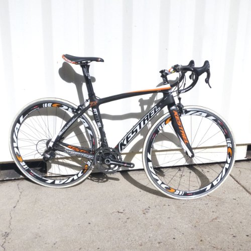 Kestrel RT-1000 SL w/Super Record Complete Road Bicycle 2012 Carbon/White/Orange