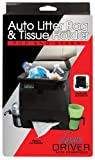 Impulse Merchandisers 12501 Pop and Stash Auto Litter Bag and Tissue Holder Organizer