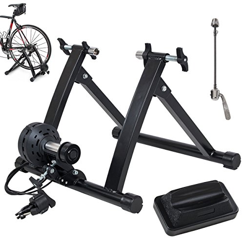 Akonza Pro Bicycle Trainer Work Out with 7 Levels of Resistance, Indoor Train, Black (Indoor Training Cycle compare prices)