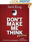 Steve Krug (Author) 698 days in the top 100 (209)  Buy new: $45.00$26.10 96 used & newfrom$20.29
