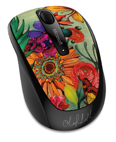 Microsoft Wireless Mobile Mouse 3500 Limited Edition Artist Series - Olofsdotter (GMF-00376)