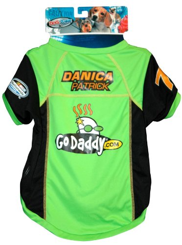 Dog Zone NASCAR Pit Crew Shirt, Small, Danica Patrick
