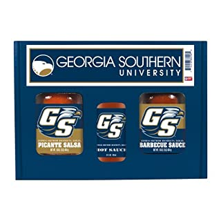 GEORGIA SOUTHERN Eagles TailGate Hot Sauce BBQ Salsa