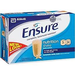 Ensure Homemade Vanilla Shake - 24/8 oz. - CASE PACK OF 2