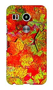 ACKME DESIGN Leaf design LG Nexus 5x Designer back cover cases AAZLGN5XF007