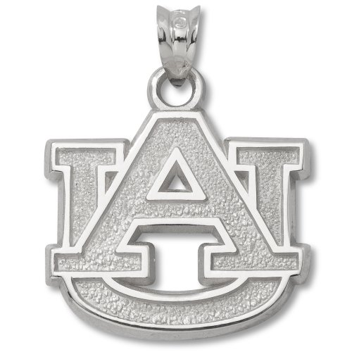Ncaa Auburn University Sterling Silver Au Pendant