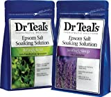 Dr. Teals Epsom Salt Soaking Solution Bundle - 1 Relax &...