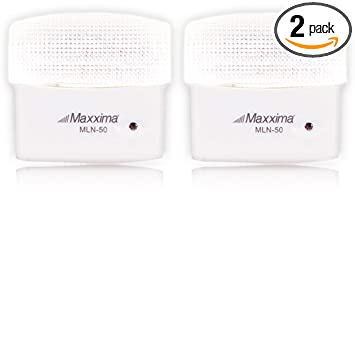 Maxxima MLN-50 5 LED Night Light With Sensor (Pack