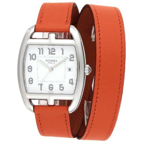 [エルメス]HERMES 腕時計 ケープコッドトノー ドゥブルトゥール ホワイト文字盤  二重巻カーフ革ベルト デイト CT1.710.130.WOR1 レディース 【並行輸入品】