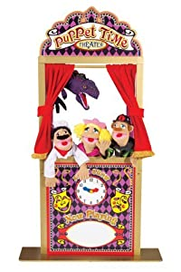 Puppet Theater from Melissa and Doug