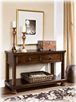Hot Sale Rustic Brown Console Sofa Table - Signature Design by Ashley Furniture
