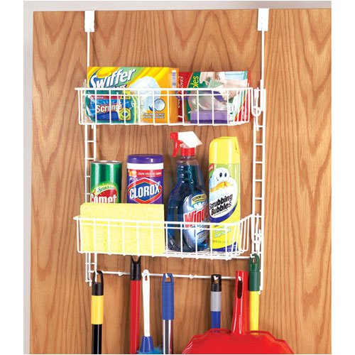 Grayline Housewares Tiered Cleaning Supply Organizer