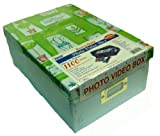 "Pioneer B1 Heavy Duty Photo Video Box - Light Blue bottom with Gardening Theme Lid - 4 1/2"" x 7 3/4"" x 11 1/4"""