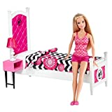 Barbie Doll And Bedroom Furniture Set, Multi Color