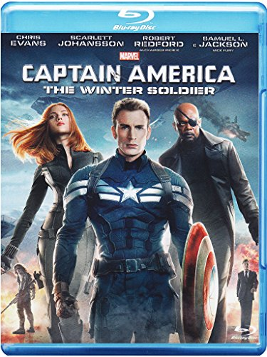 Captain America - The Winter Soldier [Blu-ray] [IT Import]
