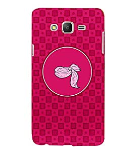 PRINTVISA Abstract Pink Pattern Case Cover for SAMSUNG GALAXY ON 5 PRO