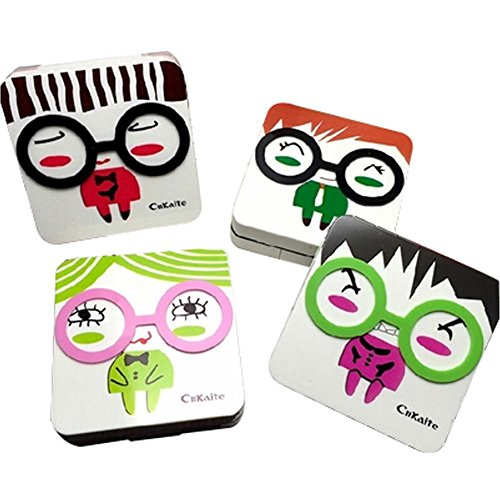 korea-style-cute-figure-lenses-holder-square-shape-contact-lenses-cases