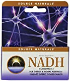 Source Naturals NADH 5mg, Boost Energy and Mental Alertness, 30 Tablets