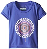 Columbia Girls 2-6X Take Me There Short Sleeve Tee-Toddler, Purple Lotus Medallion, 3T Color: Purple Lotus Medallion Size: 3T Infant, Baby, Child