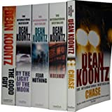 Dean Koontz Dean Koontz Collection 5 Books Set Pack RRP: £ 38.95(The Good Guy, By the Light of the Moon, Hideaway, Chase, Fear Nothing) (Dean Koontz Collection)