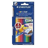 ステッドラー ノリスクラブ 水彩色鉛筆 12色セット 144 10NC12