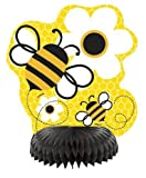 Busy Bee Mini Honeycomb Party Centrepieces, pk4