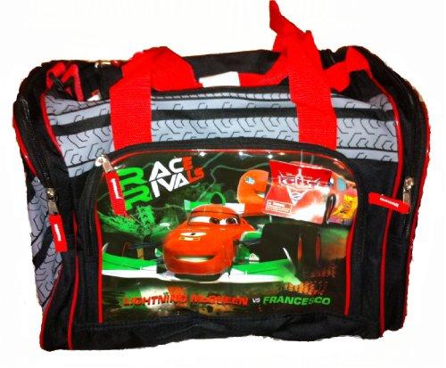Disney Pixar Cars 2 Sports Duffle Bag Lightning McQueen And Francesco Review