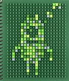 Pixel Art (Silicone Activity Books)