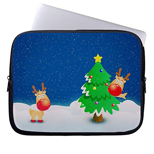 hugpillows-laptop-sleeve-bag-christmas-trees-white-winter-notebook-sleeve-cases-with-zipper-for-macb