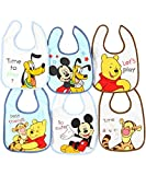 Disney Mickey & Friends 6-Pack Bibs