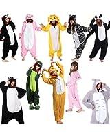 Mens Ladies Adults Fleece Animal Onesies Novelty Onsie Kigurumi Pyjamas Unisex