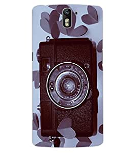 ColourCraft Love background Design Back Case Cover for OnePlus One