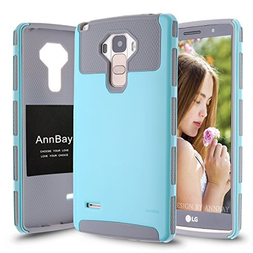 Click to buy LG G Stylo / LG G4 Stylus (LS770) Case AnnBay(TM) for LG G4 Stylus/LG G Stylo  2in1 Hybrid Armor Case Heavy Duty Case,High Impact Case (Blue/Gray) - From only $69.99