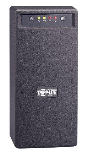 Tripp Lite Smart750Usb 750Va 450W Ups Battery Back Up Tower Avr 120V Usb Rj45, 6 Outlets