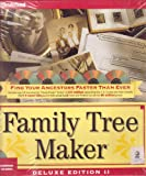 Family Tree Maker Deluxe Edition II for McIntosh/5 CD-ROMs