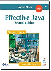 Book cover for Effective Java<