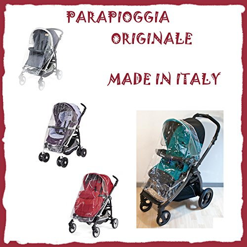 PEG PEREGO rain cover PARAPIOGGIA ORIGINALE per passeggino PLIKO MINI BOOK SI PLIKO MINI SWITCH TRIO BOOK PLUS