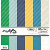 Simple Stories Simple Basics Kit, 12 by 12-Inch, A Charmed Life