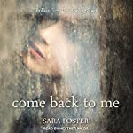 Come Back to Me | Sara Foster