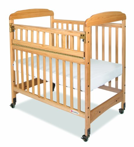 Foundations Serenity Safereach Compact Crib, Clearview, Natural, 0-36 Months - 1