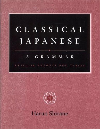 Classical Japanese: A Grammar (None)