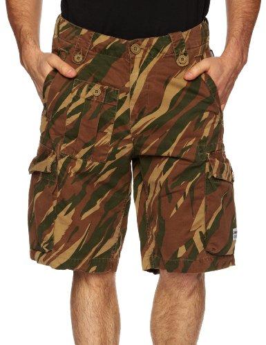 Addict 8th Camo Cargo Men's Shorts Bush Camo Small