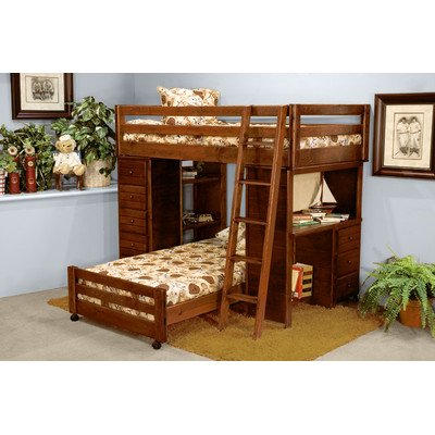 bunk bed ladder bedroom furniture kids adults children sleep l shaped