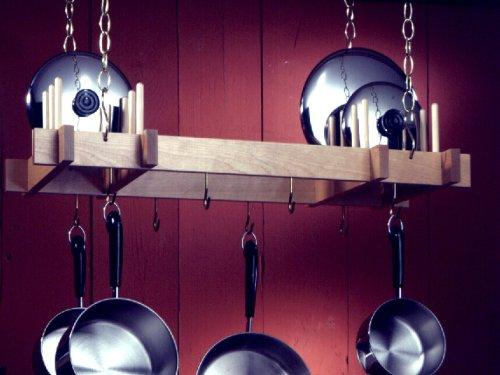 Cheap Hanging Pot & Lid Rack (B001KN92DM)