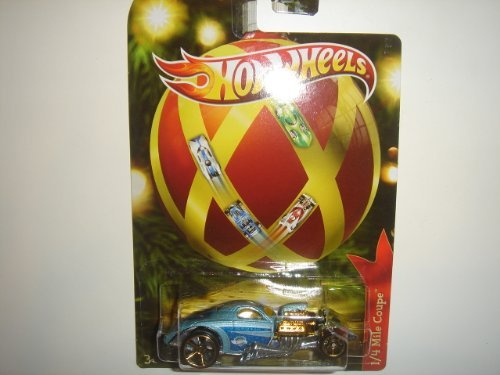 2011 Hot Wheels Holiday Hot Rods 1/4 Mile Coupe Light Blue - 1