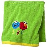 "Sesame street ""Patchwork"" Bath Towel"