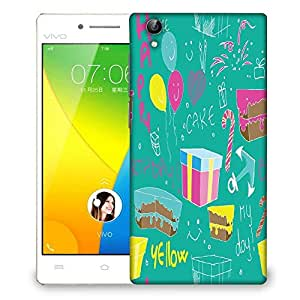 Snoogg Birthday Gift Designer Protective Phone Back Case Cover For VIVO Y51 L